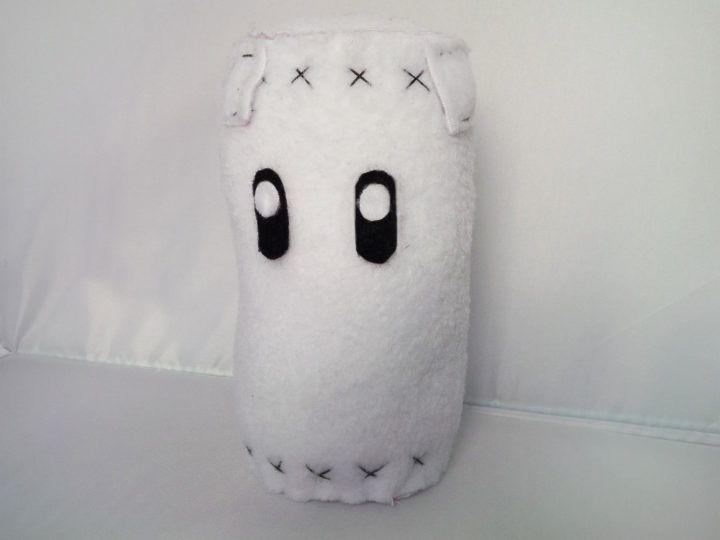 "Peluche ""sac de sable"" (Super Smash Bros.) : un punching ball sans limite !"