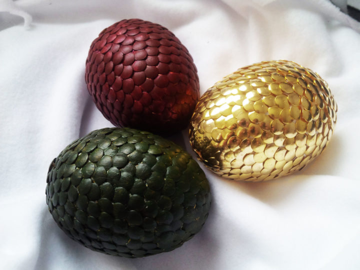Oeufs de dragon (Game of Thrones) – Pâques is coming !